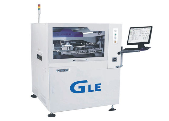SMT Solder Paste Stencil Printing Machine 0.3 Pitch CCD Digital Camera High Precision