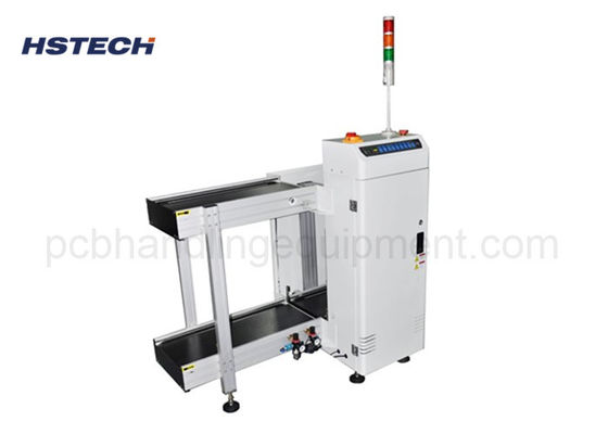 Magazine Collecting 6 Seconds SMEMA Signal 0.4mm PCB Loader Hanling Machine